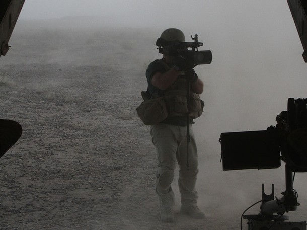 ADIL ON LOCATION - BATTLEGROUND AFGHANISTAN