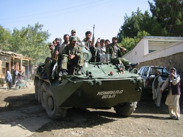 34. Northern Alliance on the move in Jabal Seraj